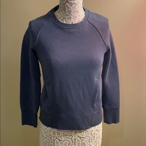Size 2 Lululemon Sweatshirt with Passthru pocket
